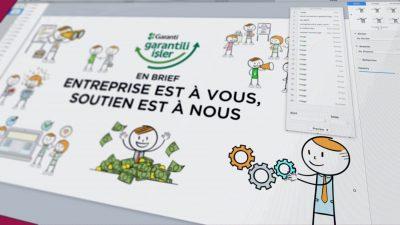 vidéo d'introduction pour le Portail financier Garanti Banque
