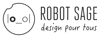Robot Sage | Creation du site internet | Identité visuelle